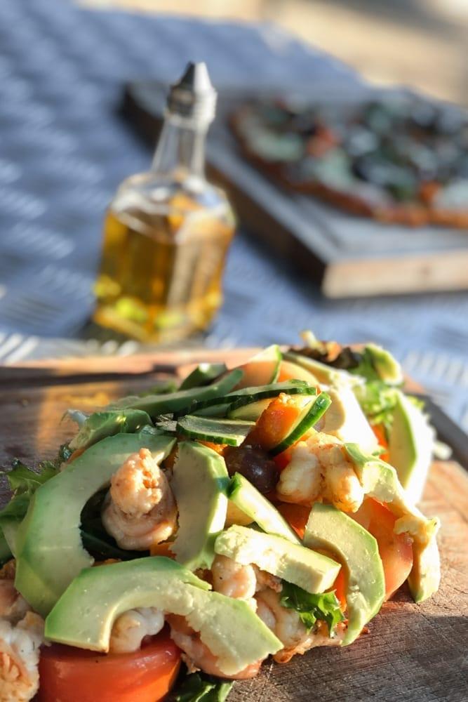 Food – Avocado _ Prawn Salad at The Maroela Bar