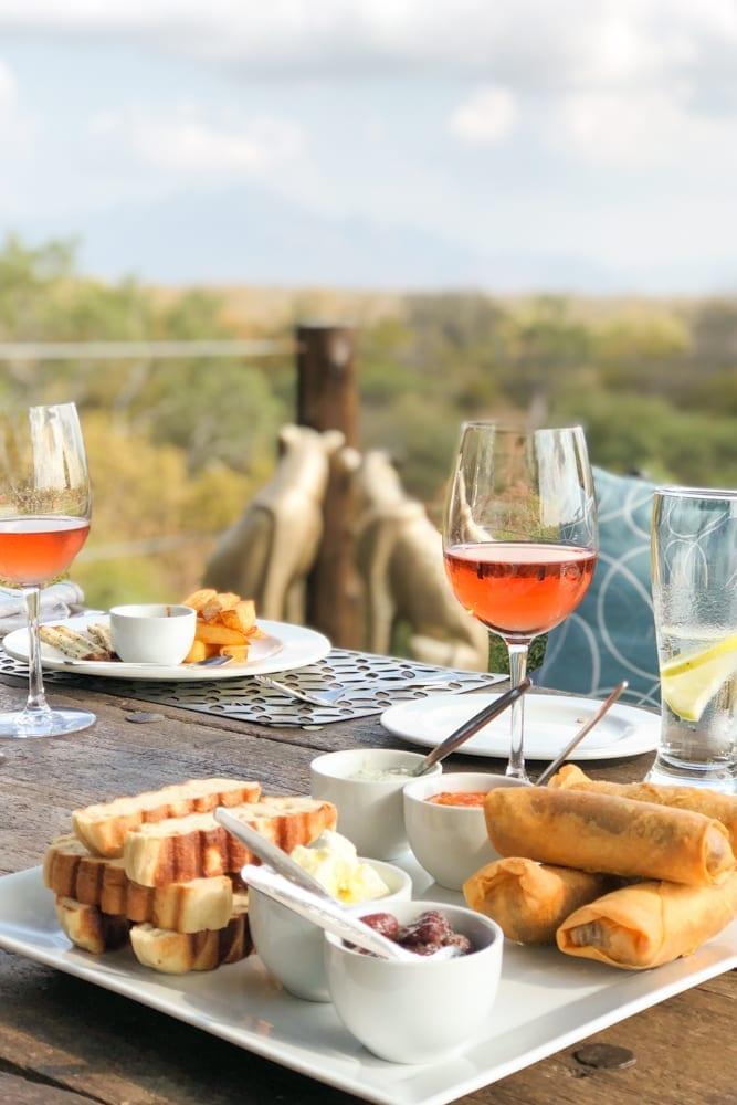 Food – Food Platter at Khaya Ndlovu Manor House Restaurant