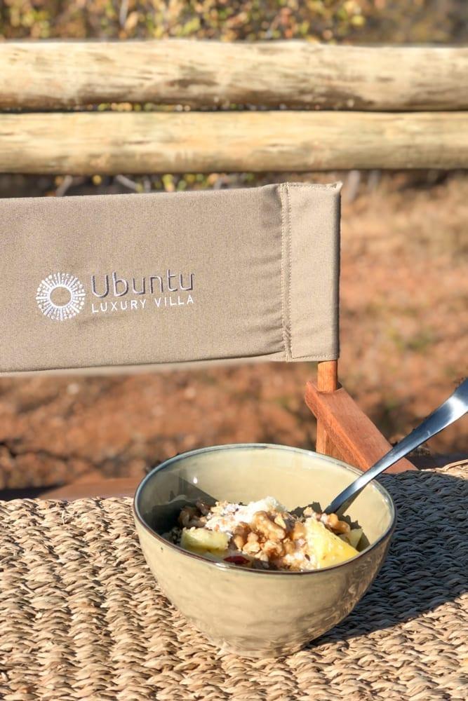 Food – Vegan Breakfast Bowl at Ubuntu Luxury Villa
